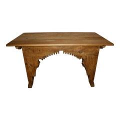 Dutch Pine Miller's Work Table