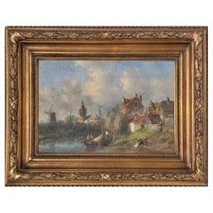 "Dutch School, 19th Century ""Landscape"""