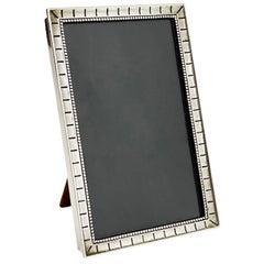 Dutch small Silver Photo Frame, Zaanlandse Zilversmederij