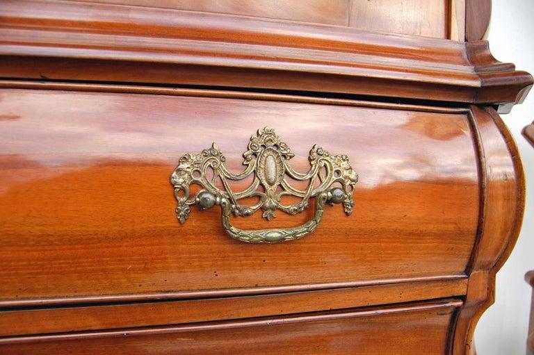 Dutch-Style Baroque Composite Dresser, 1800s In Good Condition For Sale In Kiel, Schleswig-Holstein