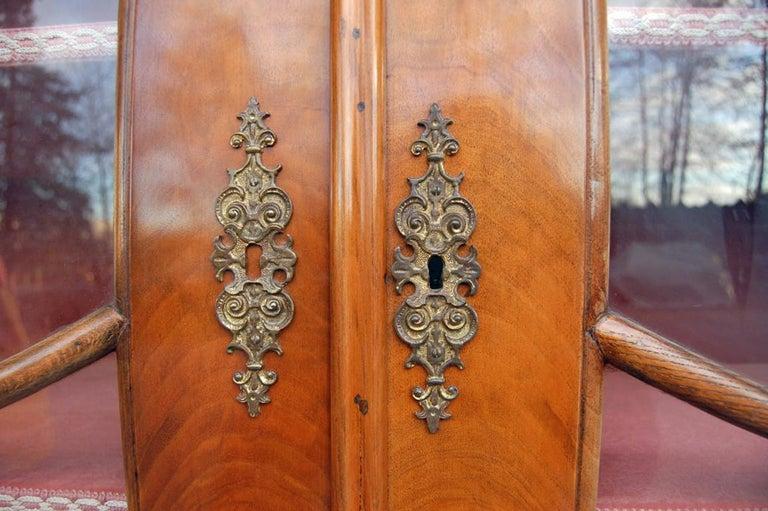 Walnut Dutch-Style Baroque Composite Dresser, 1800s For Sale