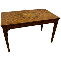 Dutch Walnut, Kingwood and Marquetry Side Table, Late 17th-Early 18th Century