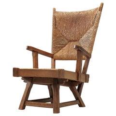 Dutch Wicker Armchair