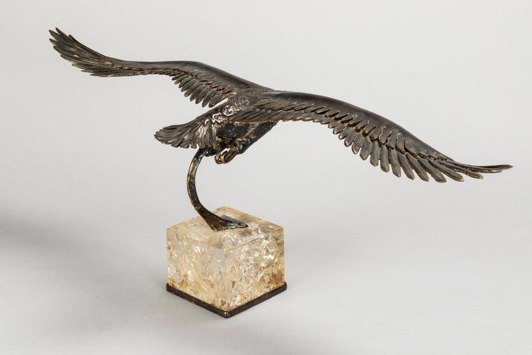 Duval Brasseur Two Bronze Sculptures, 1970s For Sale 5