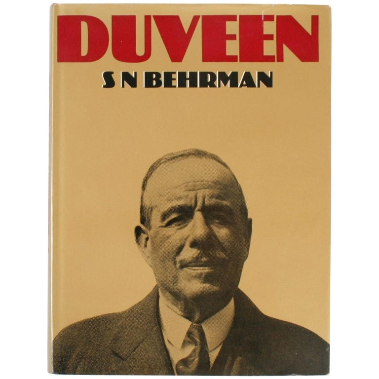 Duveen by S. N. Behrman, First Edition For Sale