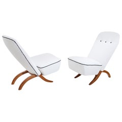 Dux Lounge Chairs, Sweden, Mid-20th Century