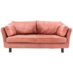 DUX Swedish Midcentury Leather Sofa