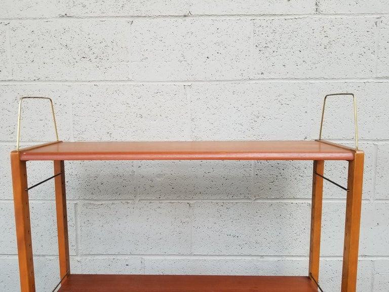 Dux Teak Danish Modern Storage / Shelf / Wall Unit For Sale 6