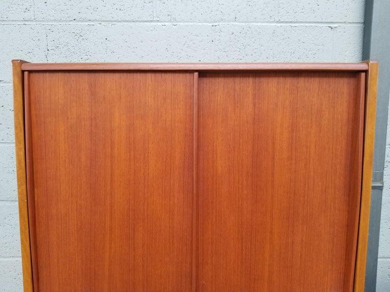 Dux Teak Danish Modern Storage / Shelf / Wall Unit For Sale 8