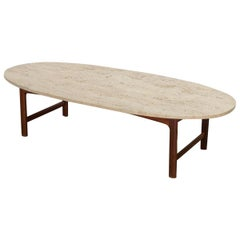 DUX Travertine Coffee Table