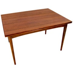 Dux Walnut Flip-Top Dining Table