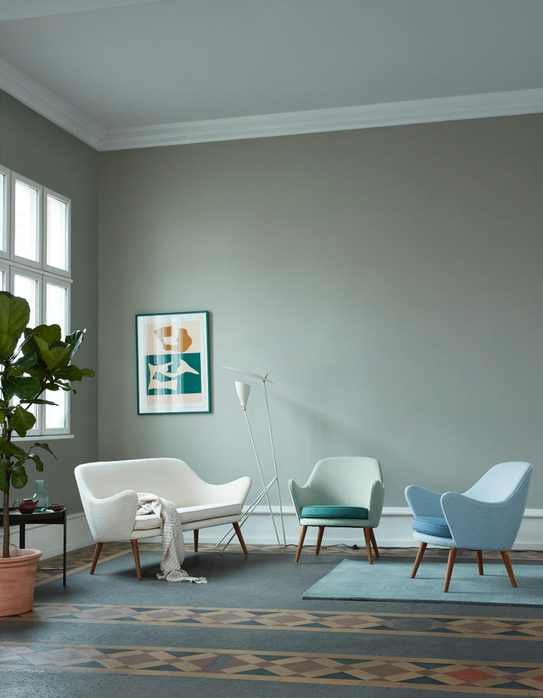 Dwell Lounge Chair, by Hans Olsen from Warm Nordic For Sale 17