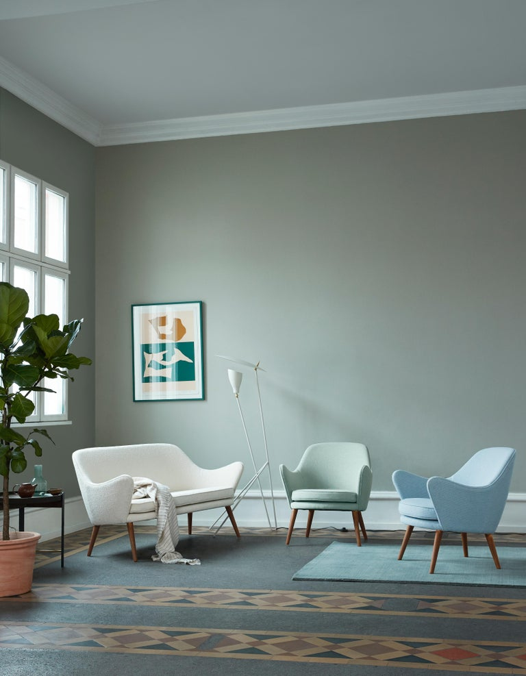 Dwell Lounge Chair, by Hans Olsen from Warm Nordic For Sale 18