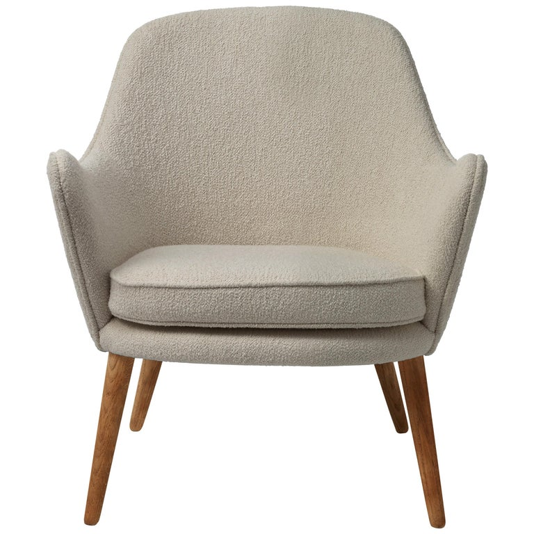 For Sale: Gray (Barnum 2) Dwell Lounge Chair, by Hans Olsen from Warm Nordic
