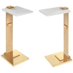DWG Rock Crystal Drinking Tables by Phoenix