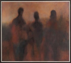 Three Shadows Abstract Expressionist
