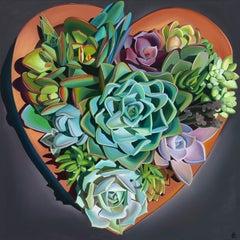 """I Left My Heart in Santa Barbara, Succulents"""