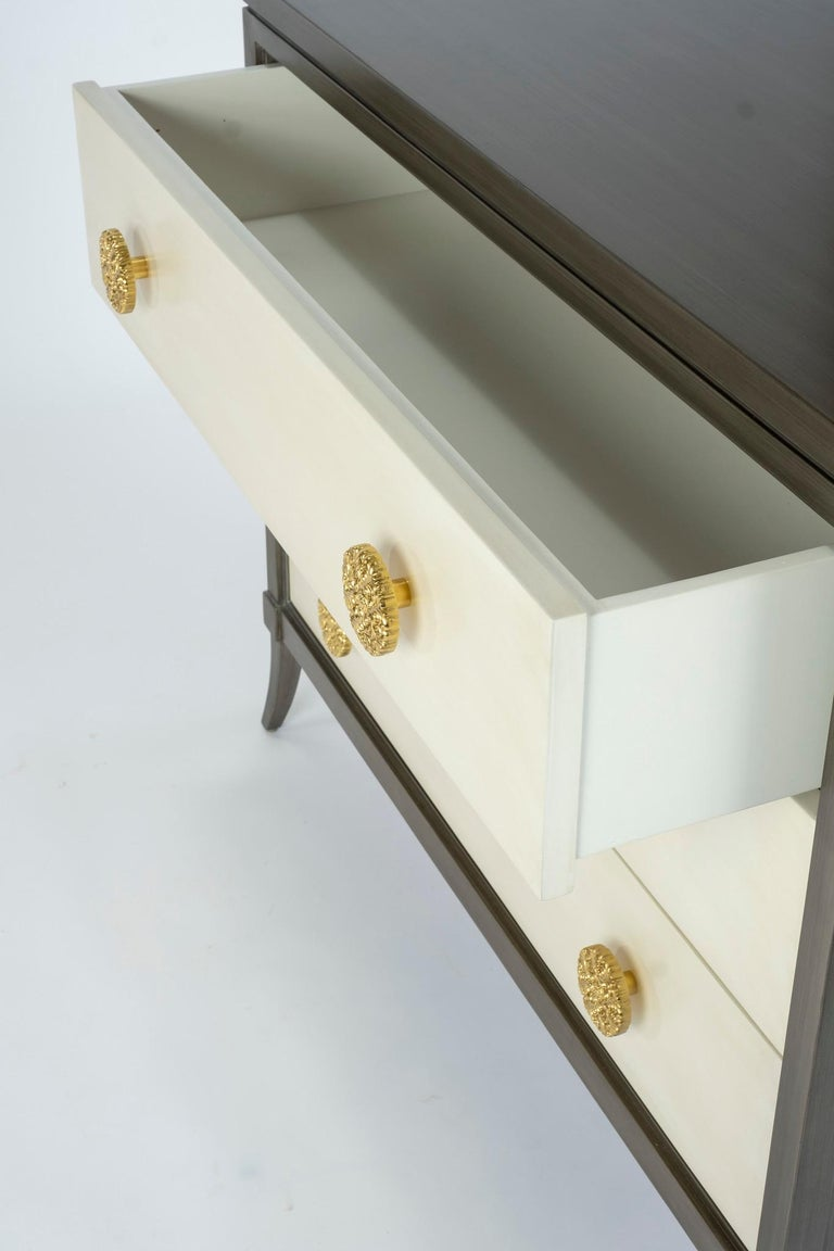 Dylan Grey and Cream Chest of Drawers For Sale 3
