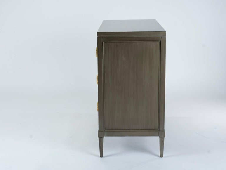 Dylan Grey and Cream Chest of Drawers For Sale 1