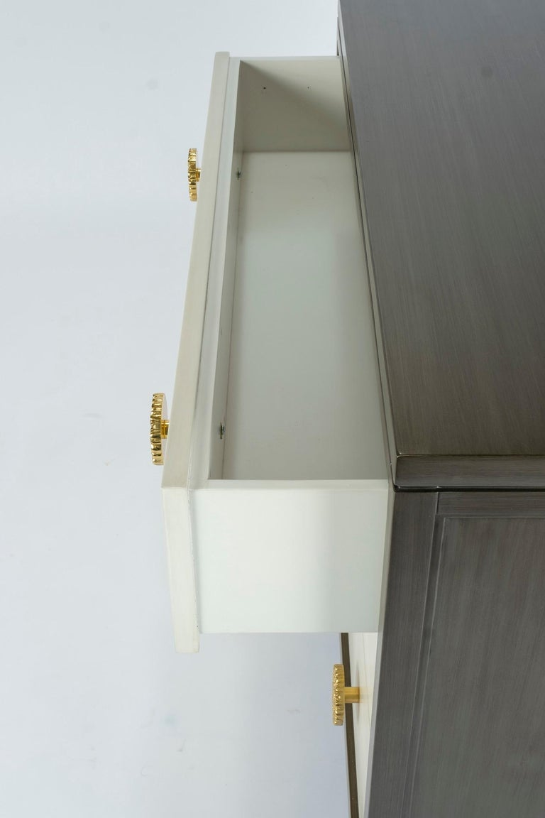 Dylan Grey and Cream Chest of Drawers For Sale 2