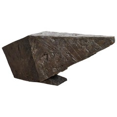Dylan Lewis, Bronze Console, Textured Abstract Sculpture