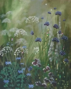 Island Path VI, Dylan Lloyd, Contemporary Landscape Painting, Vibrant Art