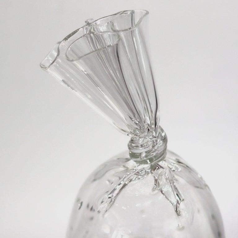 Water Bag 12 - Unique Glass Sculpture For Sale 2