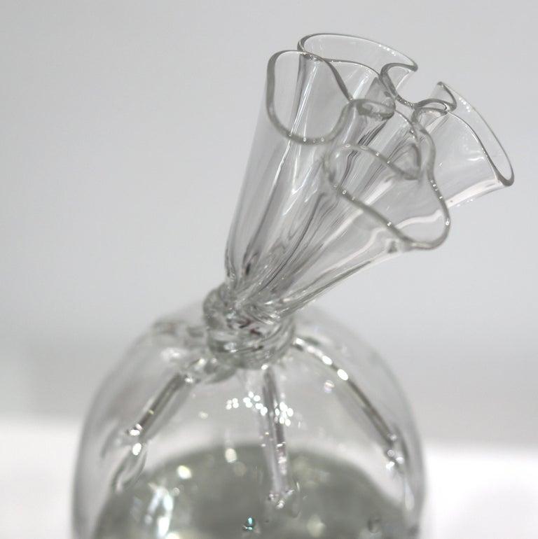 Water Bag 12 - Unique Glass Sculpture For Sale 6