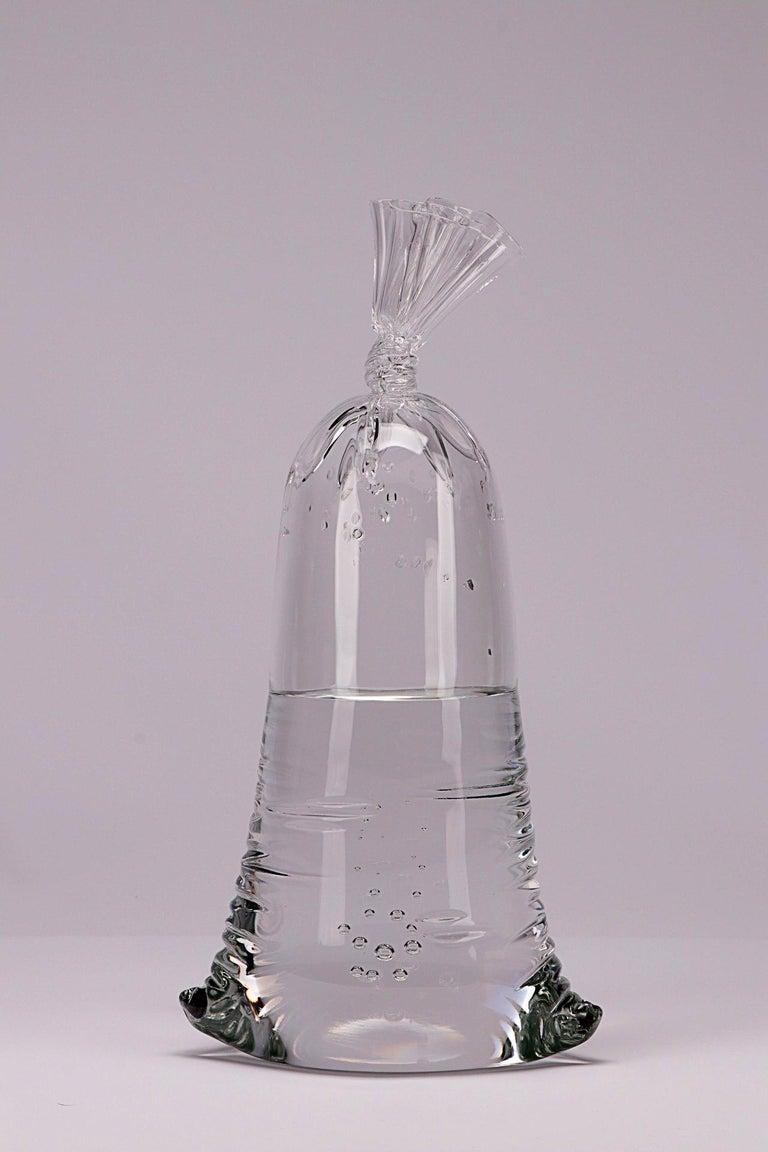 Dylan Martinez Still-Life Sculpture - Glass Water Bag #19162