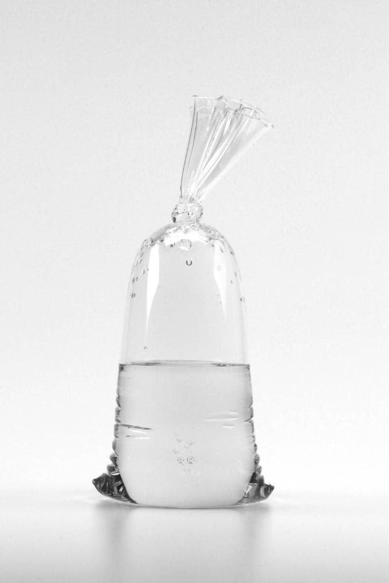 Dylan Martinez Still-Life Sculpture - Glass Water Bag A180