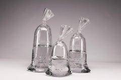 Glass Water Bag Trio