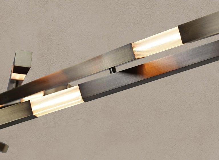 Modern Dynamic Fuse Stilk Chandelier - Contemporary Chandelier - Adjustable Chandelier For Sale
