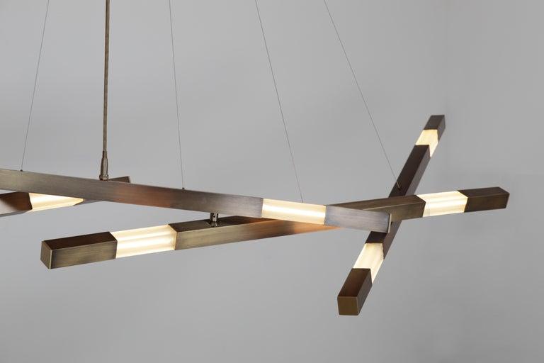 American Dynamic Fuse Stilk Chandelier - Contemporary Chandelier - Adjustable Chandelier For Sale