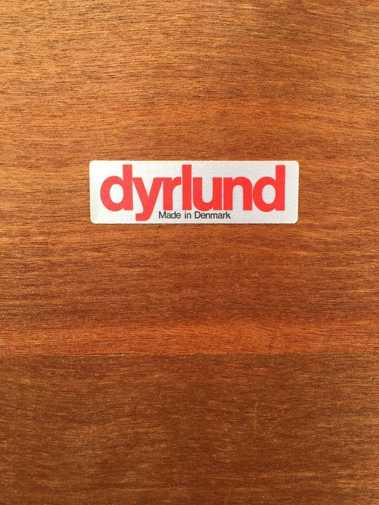 Dyrlund Danish Teak Rolling Cart 6