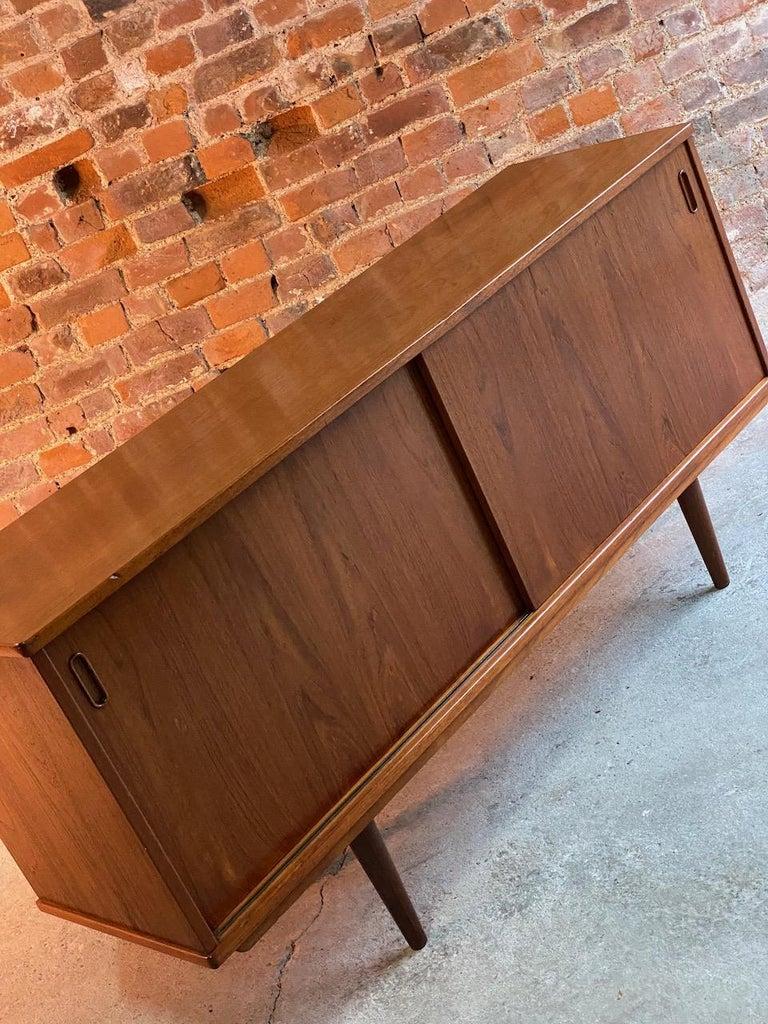Late 20th Century Dyrlund Teak Sideboard Credenza Midcentury Danish, circa 1970s For Sale