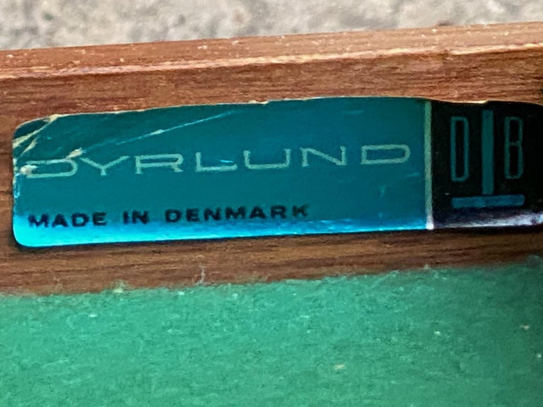 Dyrlund Teak Sideboard Credenza Midcentury Danish, circa 1970s For Sale 3