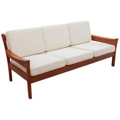 Dyrlund Three-Seat Sofa, 1950s, Denmark