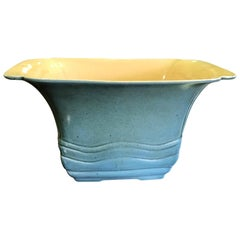 E A Batchelder California Pasadena Ceramic Glazed Pottery Bowl, circa 1930s