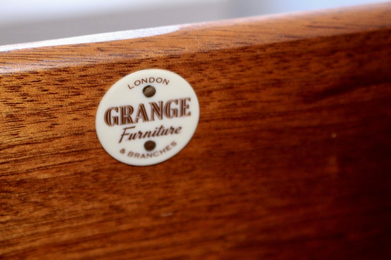 E Gomme 'G-Plan' Teak Sideboard with Fornasetti Decoupage, 1958 For Sale 5