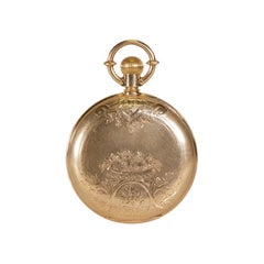 1880s E. Howard & Co. Solid Gold Pocket Watch