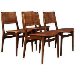 E. Knudset Set of Four Dining Chairs