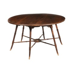 E W Godwin, an Anglo-Japanese Aesthetic Movement Brazilian Pine Table