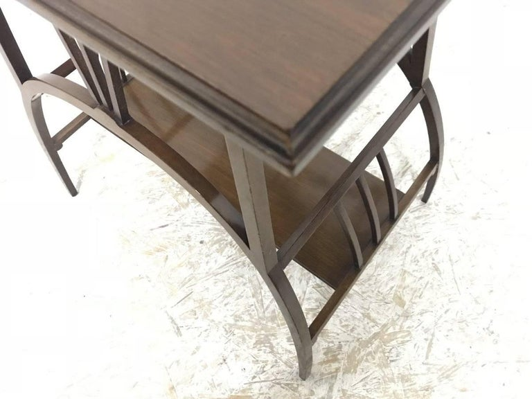 1870s E W Godwin Attributed to an Anglo Japanese Mahogany Side Table For Sale