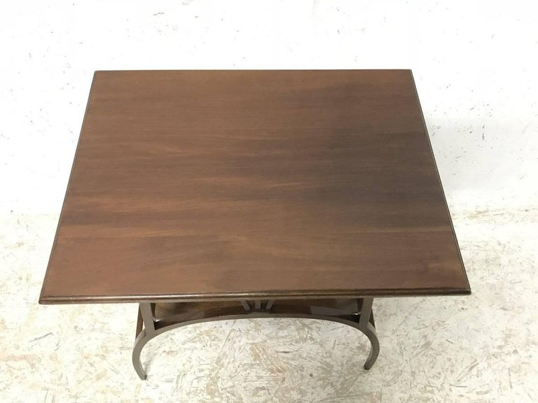 E W Godwin Attributed to an Anglo Japanese Mahogany Side Table For Sale 1