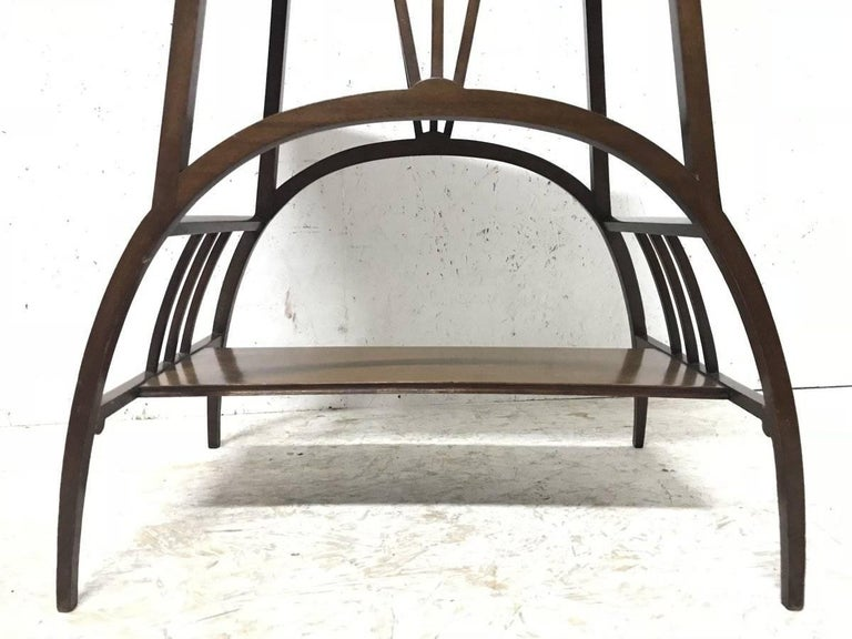 E W Godwin Attributed to an Anglo Japanese Mahogany Side Table For Sale 4