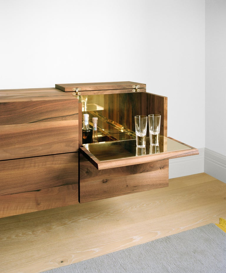 e15 Araq Sideboard in Stainless Steel by Philipp Mainzer In New Condition For Sale In Washington, DC