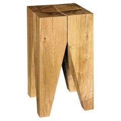 e15 Backenzahn Oak Stool by Philipp Mainzer