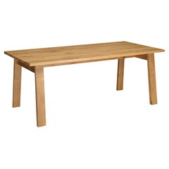 e15 Basis Table with Oak Base by David Chipperfield
