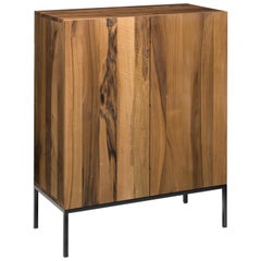 e15 Fariba Sideboard with Jet Black Steel Base by Philipp Mainzer