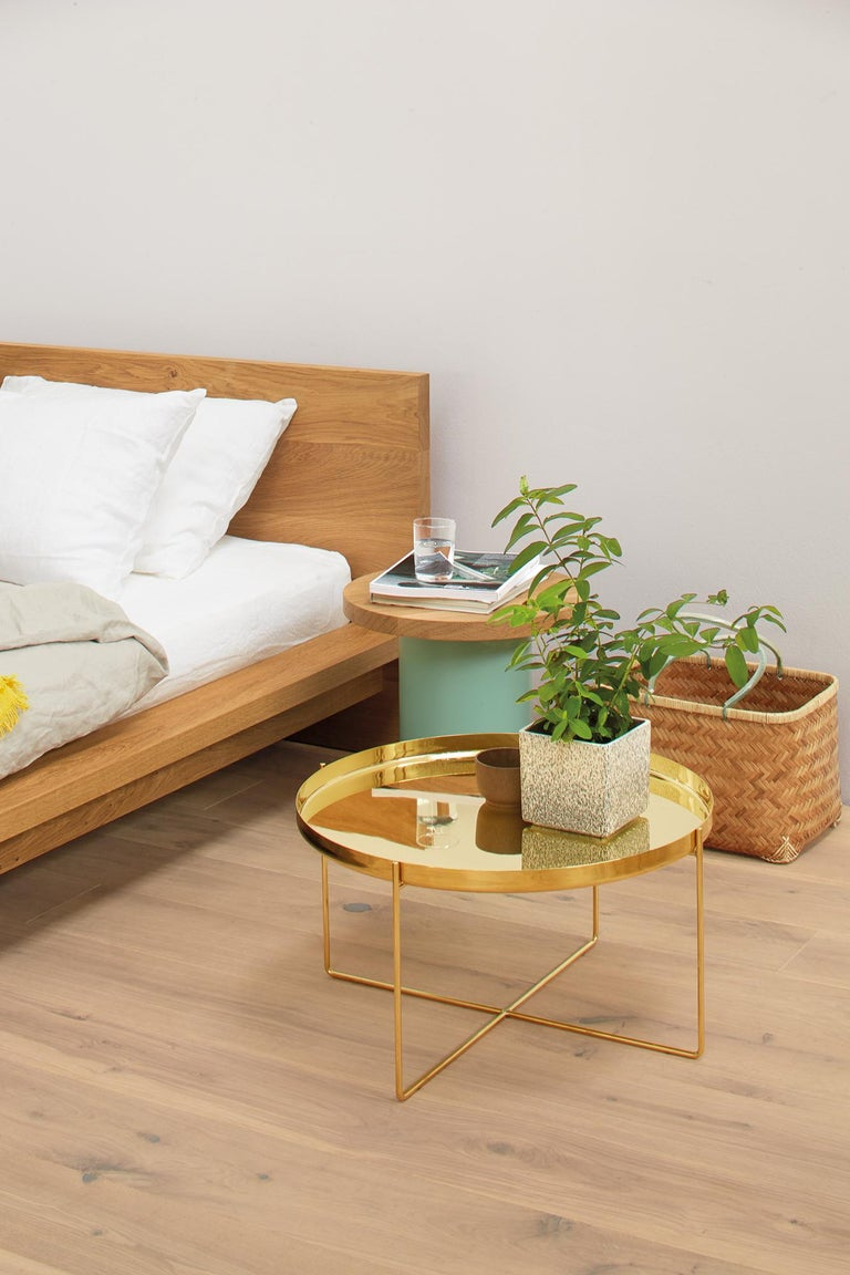 Modern e15 Habibi Short Side Table by Philipp Mainzer For Sale